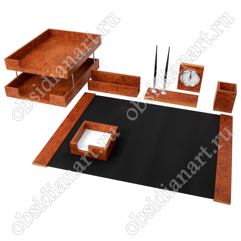 Красивый офисный набор из дерева, арт. 1237212